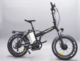 Электровелосипед (Фэтбайк полноприводный складной) E-motions FAT 20 Double2 700w 48v (2 х 350w 48v)